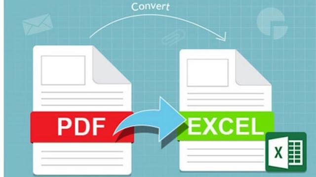 Cara Mengubah File PDF ke Excel