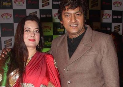Vijayta Pandit with Aadesh Shrivastava