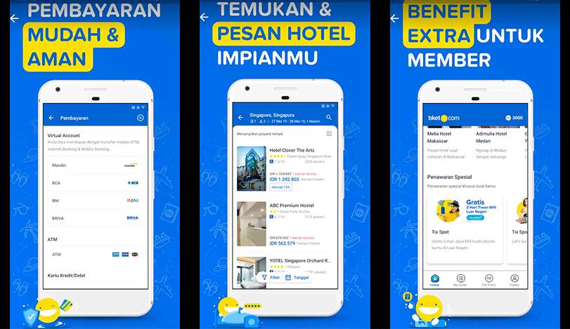 Tiket Com Adalah Aplikasi Pesan Tiket Dan Hotel Online Dengan Harga Terlengkap Dan Termurah Review Teknologi Sekarang
