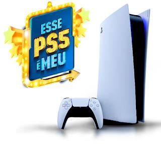 Promoção ''ESSE PS5 É MEU'' concorra ao primeiro Playstation 5 do site Kabum