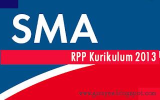 RPP SMA Bahasa Indonesia Kelas XI