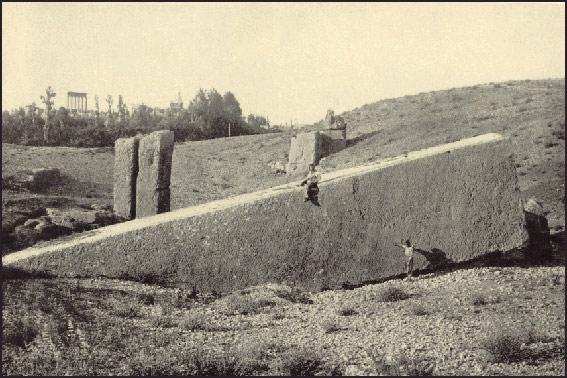 La plataforma de Baalbek - Un colosal enigma
