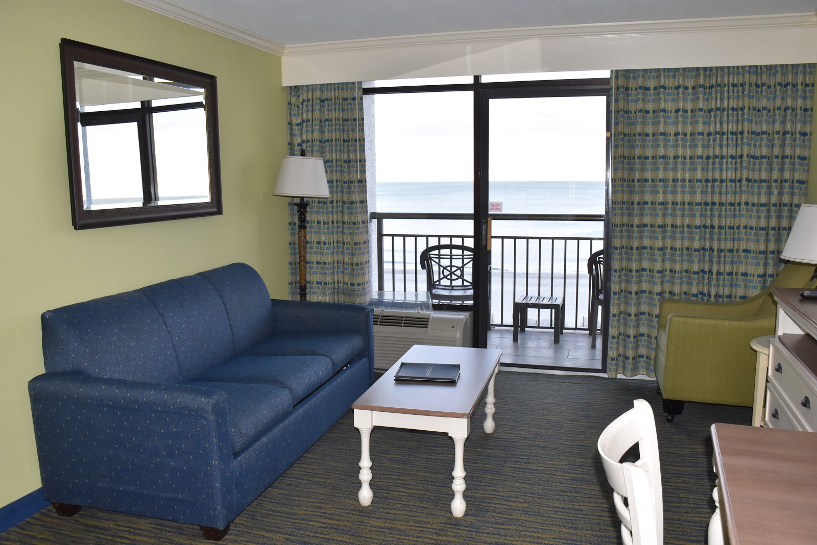Living Room in Caribbean Resort and Villas in Myrtle Beach