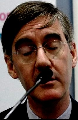 Jacob Rees-Mogg, UK's top far right religious extremist, hates Human Rights and laughs at Germans