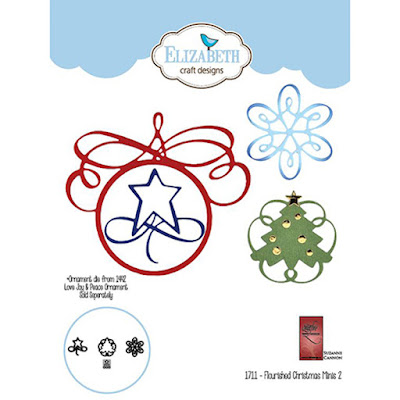 Flourished Mini 2 / Snowflake used for masking on Ranger Gel Plate