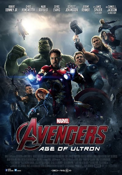 Avengers: Age of Ultron (2015) BluRay 480p & 720p