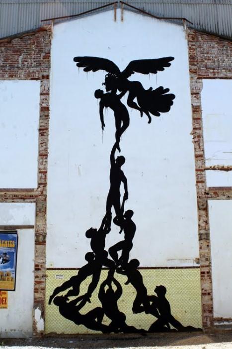 Фотографии работ уличного художника. Sam3 35