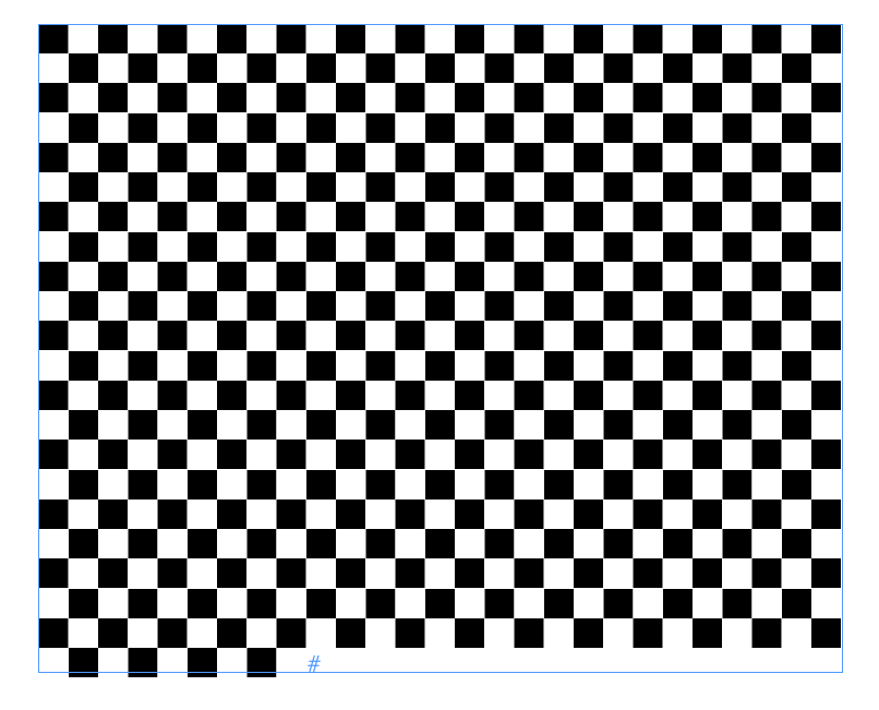 Document Geek Making A Checkerboard Pattern With Nested