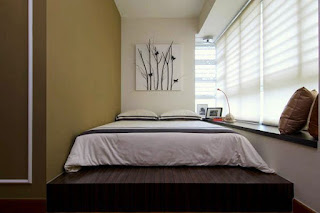 desain kamar tidur unik minimalis modern