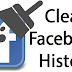 Facebook Clear Search History