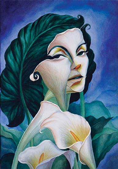 Mulher de Fibra - Octavio Ocampo e Suas Pinturas Cheias de Ilusões