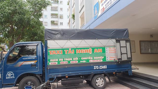 xe tải chở hàng đi can lộc