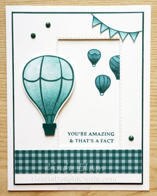 Heart's Delight Cards, Above the Clouds, 2019-2020 Annual Catalog, Stampin' Up!, SRC - Above the Clouds