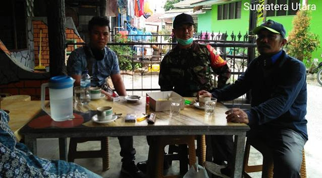 Jaga Kekompakan Dengan Masyarakat, Personel Jajaran Kodim 0207/Simalungun Laksanakan Komsos Diwilayah Binaan