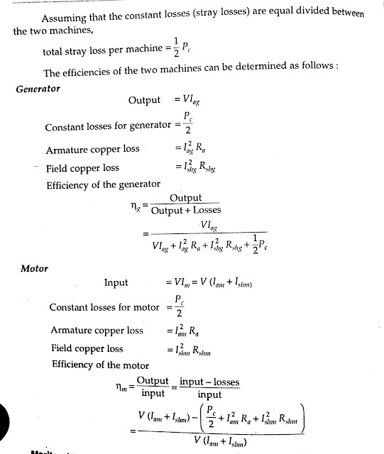 The efficiency of the Generator And Motor