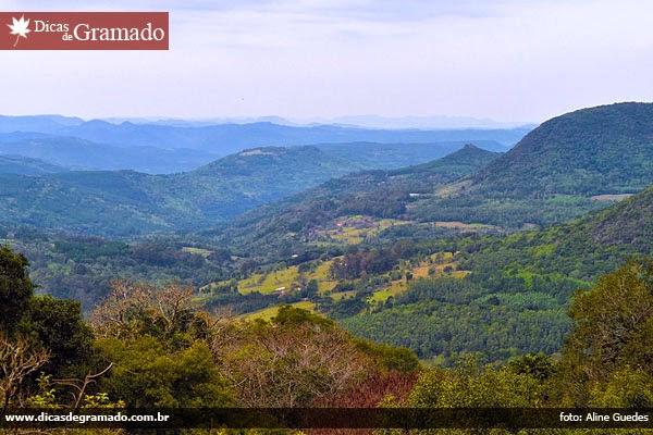 Vista do Vale do Quilombo - Gramado/RS