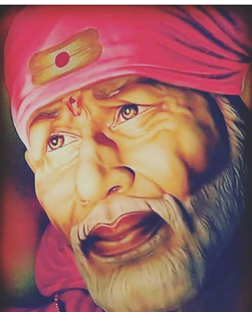 Beautiful sai baba face images 2020