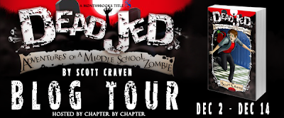 Review ~ DEAD JED: Adventures of a Middle School Zombie by Scott Craven
