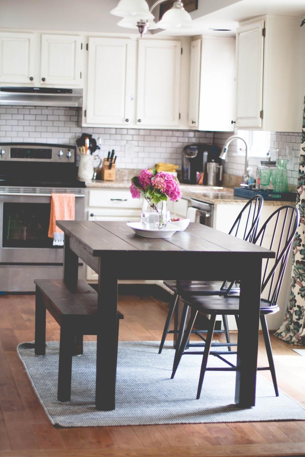 Farmhouse Kitchen Grey Cabinets