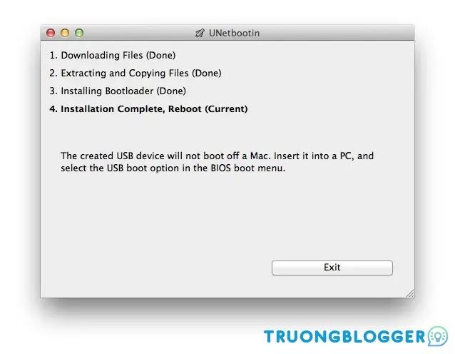 Hướng dẫn cách tạo USB cài Windows trên macOS đơn giản