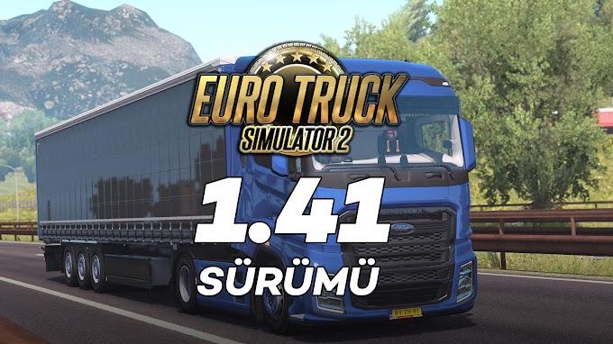 Euro Truck Simulator 2 1.41 + 75 DLC Tek Link İndir