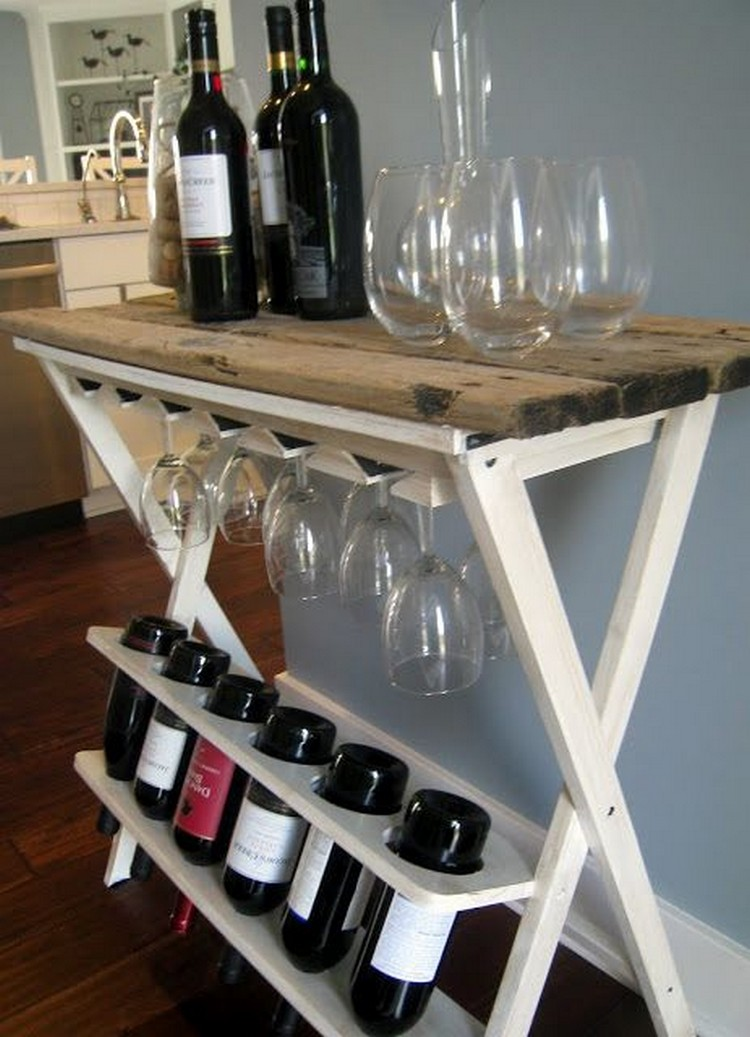 Time Saving Ideas For DIY Pallet Wine Racks At Ur Rooms