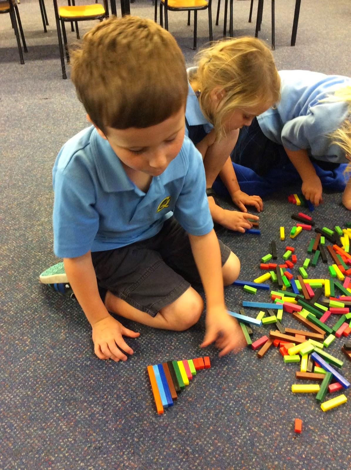 Queenspark School, Room 5: Week 4, Maths This Week