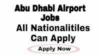 Abu Dhabi Aiport Jobs 2021