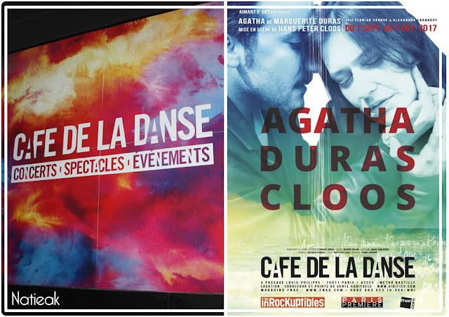 Agatha de Marguerite Duras Café de la Danse Paris