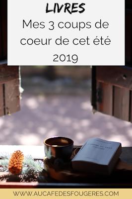 mes dernieres lectures selection livres septembre 2019