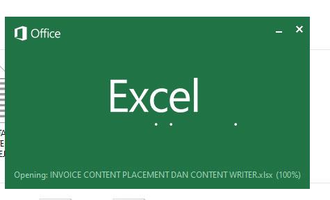 Cara Membuka File .XLSX dan .XLS