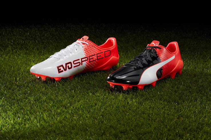 en soldes 7c5e6 c50bf Two-Colored | Red / Black Puma evoSPEED 2016-2017 Boots ...