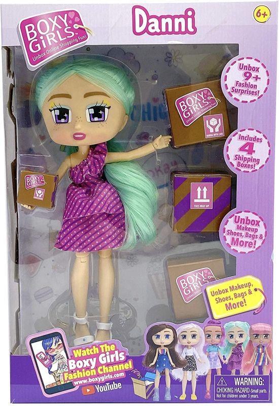 Кукла Danni из третьей серии Бокси Герлз 2020