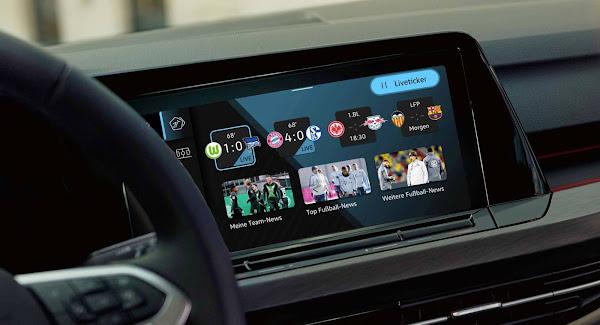 VW Golf 2021: novo aplicativo traz atualizações sobre campeonatos de futebol