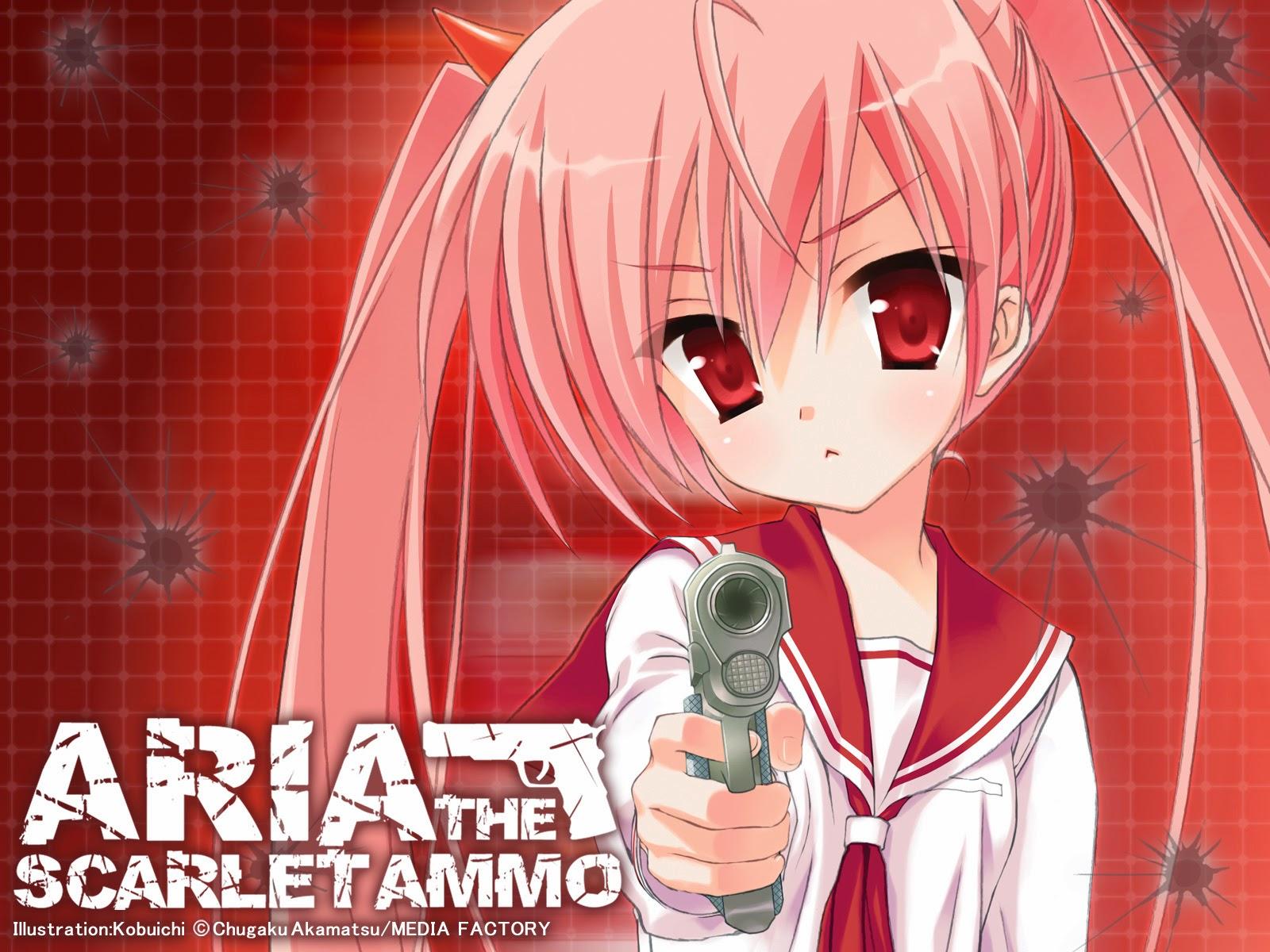 Hidan no Aria Aria Holmes Kanzaki