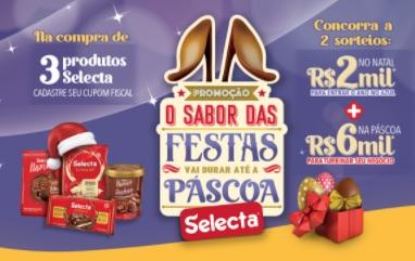 Cadastrar Promoção Selecta Páscoa 2021 Chocolates  - Ganhe Curso e Concorra Prêmios