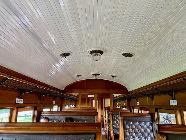 Bellarine Railway, Queenscliff train interior