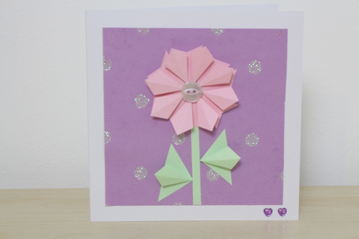 nevena krstic diy origami mothers day card