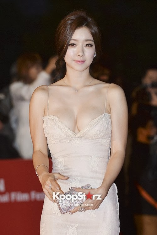 Hong Soo Ah (홍수아) at the 18th Busan ​​International Film Festival (BIFF 2013))