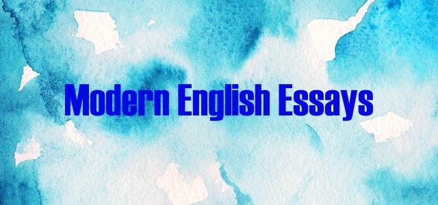 BA Moden English Essays - BA English Notes For PU, UOS