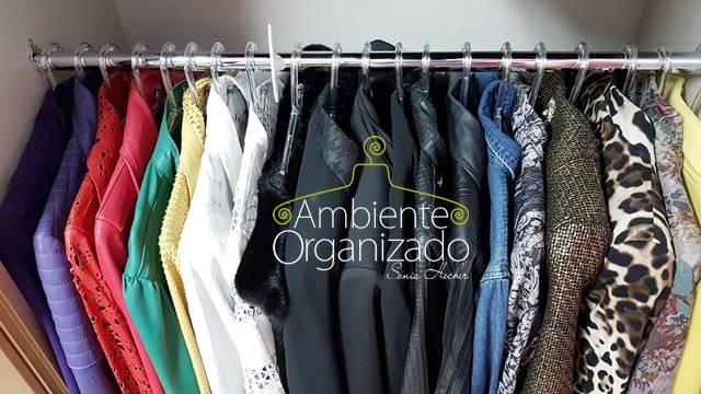 Jaquetas organizadas