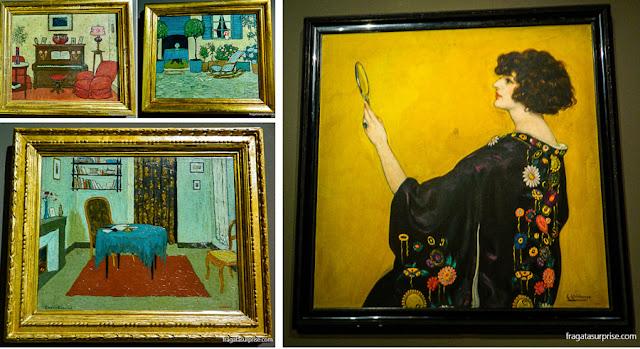 Telas da coleção modernista do Museu Nacional de arte da Catalunha, Barcelona