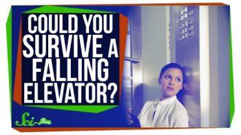 Θα μπορούσαμε να επιβιώσουμε μέσα σε έναν ανελκυστήρα σε πτώση;