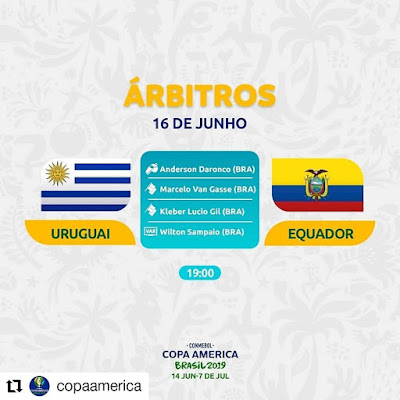 Live Uruguay vs Equador Copa America 16.6.2019