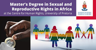 University of Pretoria Master's Degree Scholarship in Sexual & Reproductive Rights in Africa 2019