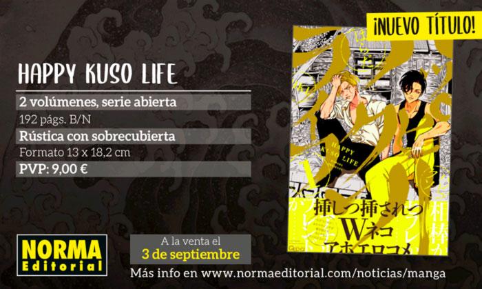 Happy Kuso Life manga BL - Harada - Norma Editorial