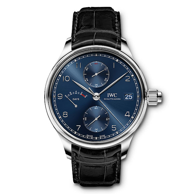 "IWC Portugieser Hand-Wound Monopusher Edition ""Laureus Sport for Good"" ref. IW515301"