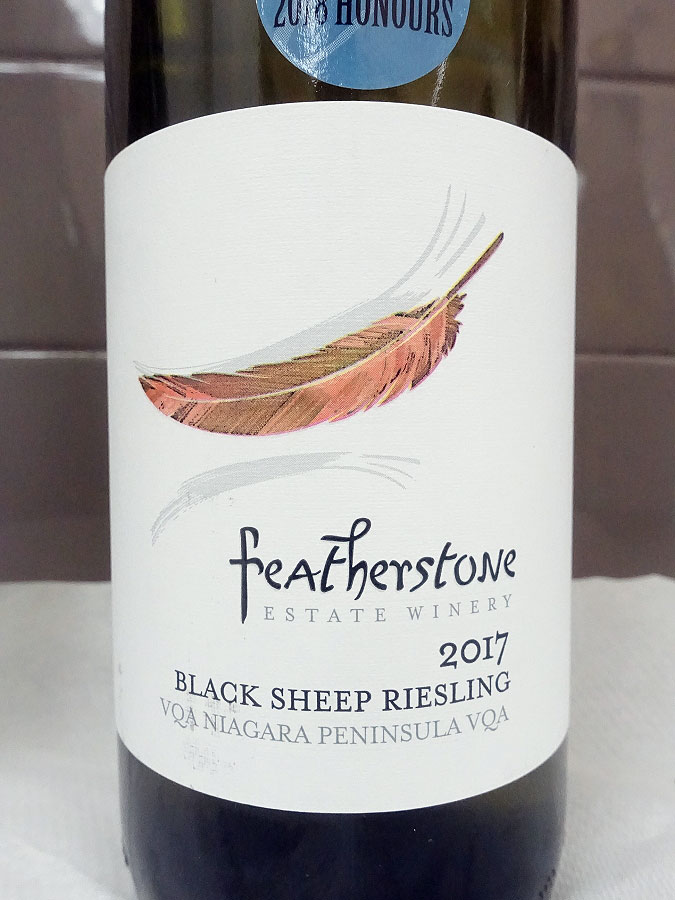 Featherstone Black Sheep Riesling 2017 (88+ pts)