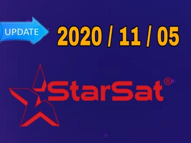 جديد تحديثات أجهزة ستارسات STARSAT يوم 20201105