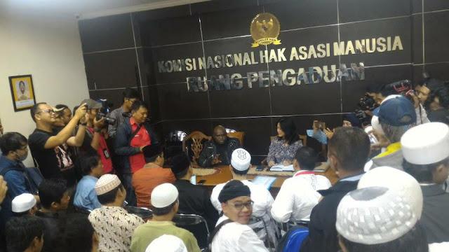 Temukan Bukti Kriminalisasi Ulama Komnas HAM Berencana Temui Ketua MPR
